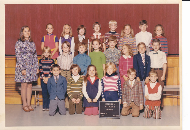 Village School (Holmdel, New Jersey) Class Picture (2nd Grade - 1971-1972)