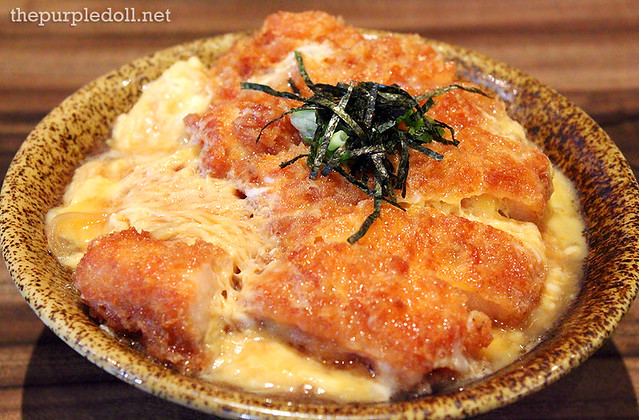 Pork Cutlet with Scrambled Egg in Tokyo Style P295