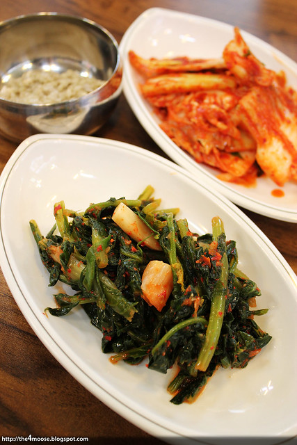 마당닭 칼국수 - Kimchi
