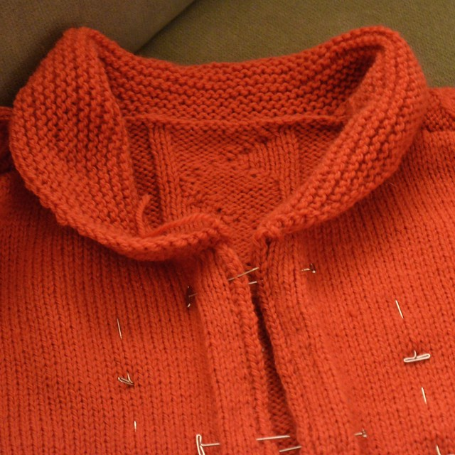 First Sweater Design Collar