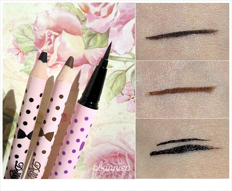 Dollywink Eyeliner Swatch