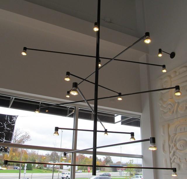 Interesting Light Fixtures: Interesting Light Fixture @ Chipotle