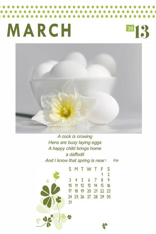 _ march calendar