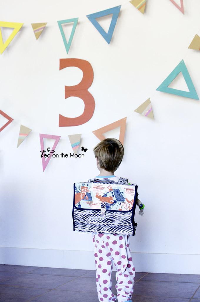 Guirnalda de cartón cumpleaños original birthday garland 010