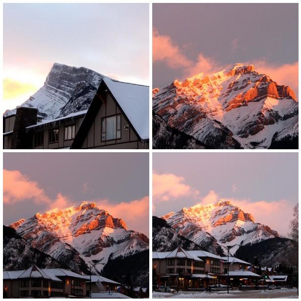 Banff ... Di Pagi Hari