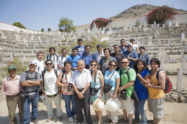 Grupo en San Nicolas