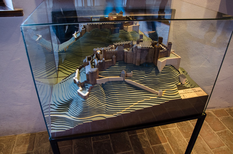 Hohensalzburg castle in 1653