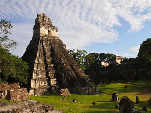 Ruins of Tikal in Guatemala