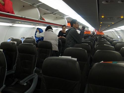 捷星航空機上空間