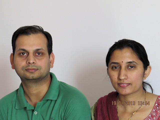 Varsha & Sachin Singh, Mangal Bhairav, Nanded City Pune