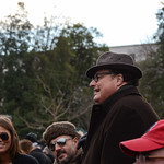 Wayne Knight with David Arquette at the 57th Presidential Inauguration, January 21, 2013