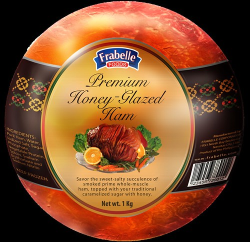 Honey Glazed Ham - packshot