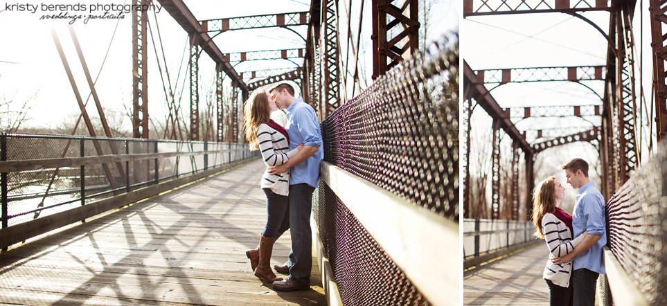 Bridge Engagement Session