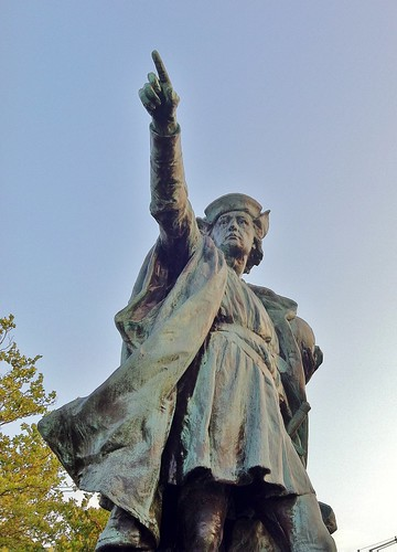 Christopher Columbus by ArtFan70 via I {heart} Rhody