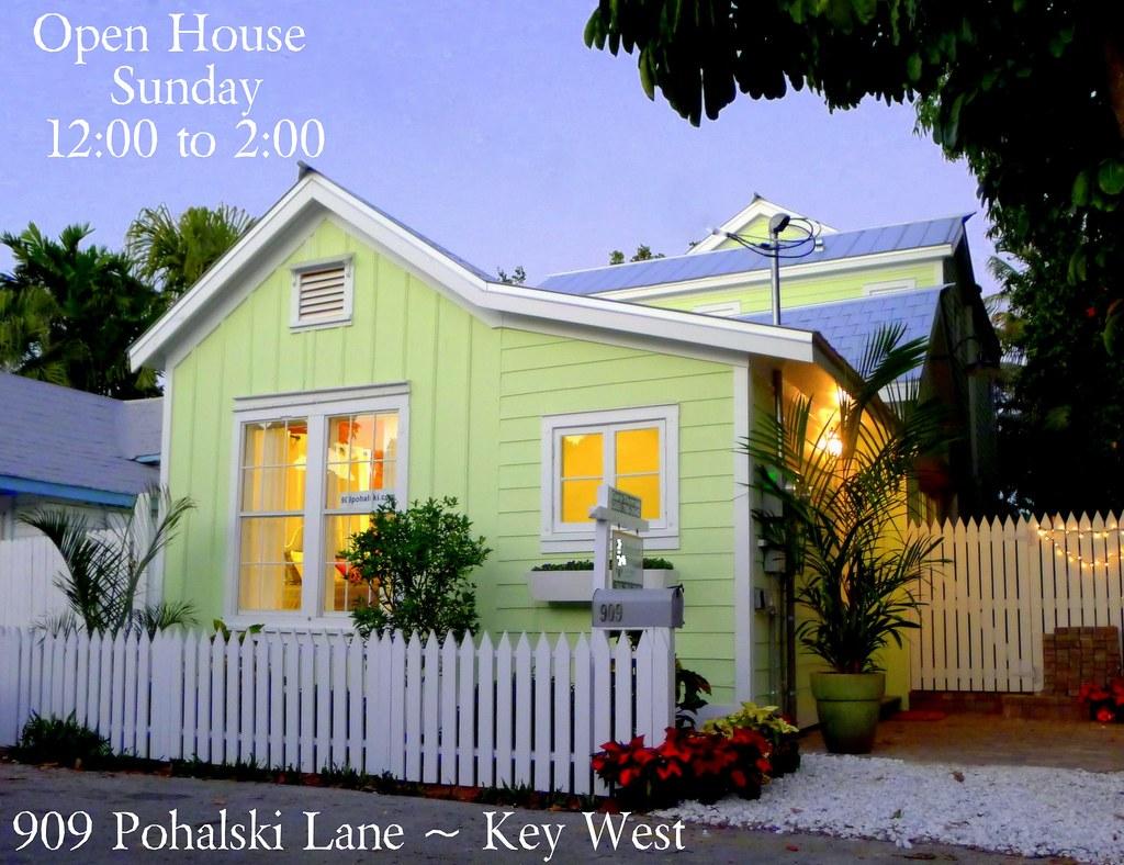 909 Pohalski Lane Key West Open House
