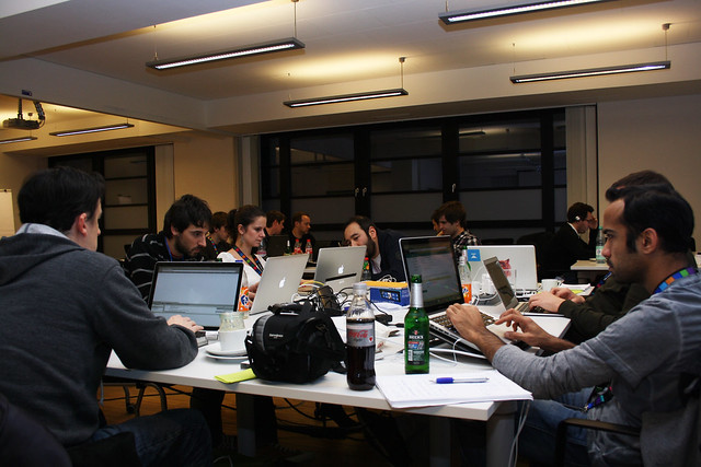 Hacking maps at the HERE Winter Hackathon