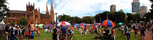 Australia Day Festival 2013 at Hyde Park