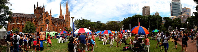 Australia Day Festival 2013 at Hyde Park