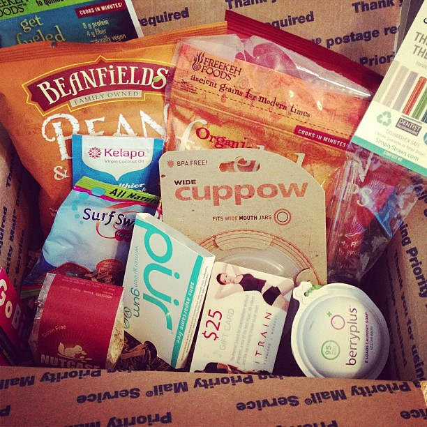 Got my @vegancuts box! It was like opening a Christmas present! #vegan