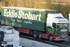 Scania R440 6x2 Tractor - PE11 LZP - Sophie Elise - Green & Red - Eddie Stobart - M1 J10 Luton - Steven Gray - IMG_0571
