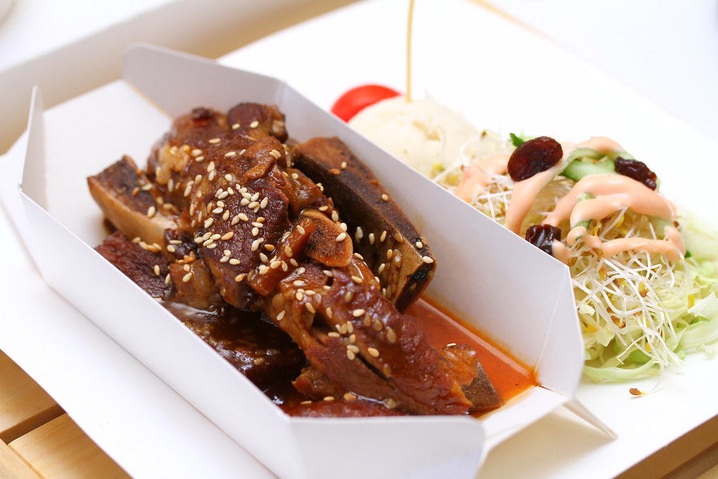 Carton King Creativity Park: Stewed Pork Ribs with Champagne Honey Sauce