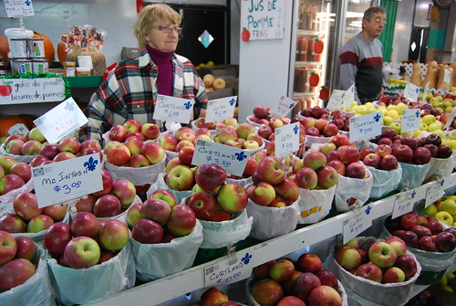 Apple variety at Mache Jean-Talon