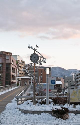 長野駅時計