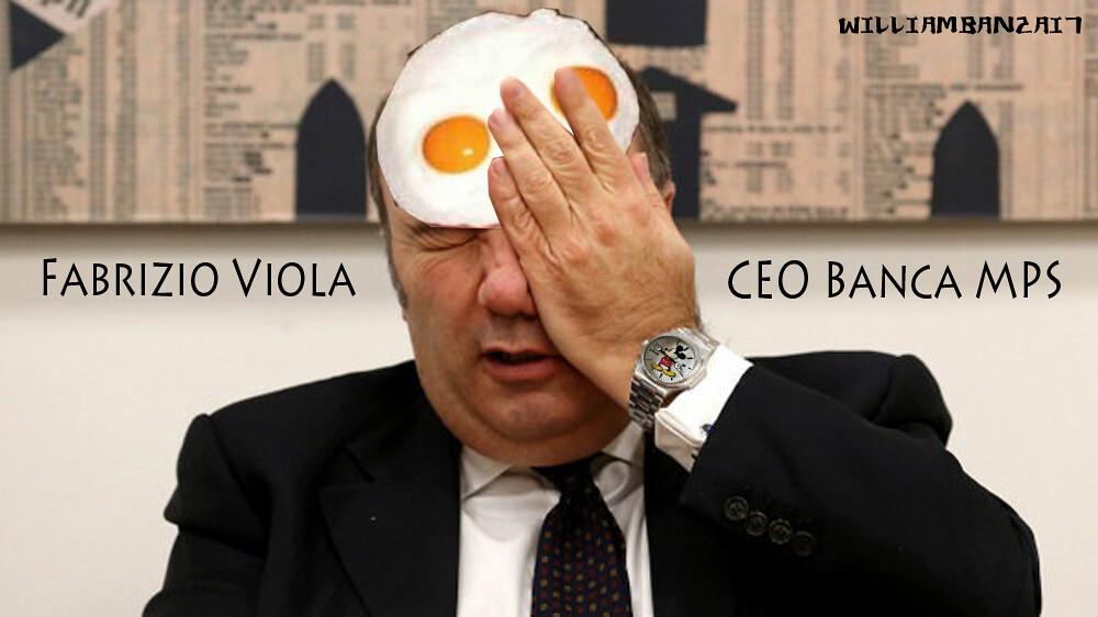 FABRIZIO VIOLA, CEO BANCA MONTE PASCHI Di SIENA