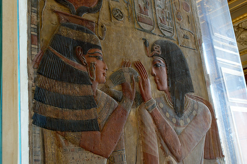 Hathor Welcoming Seti I
