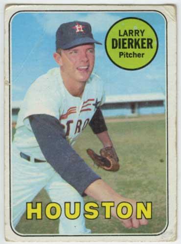 1969 Topps Larry Dierker