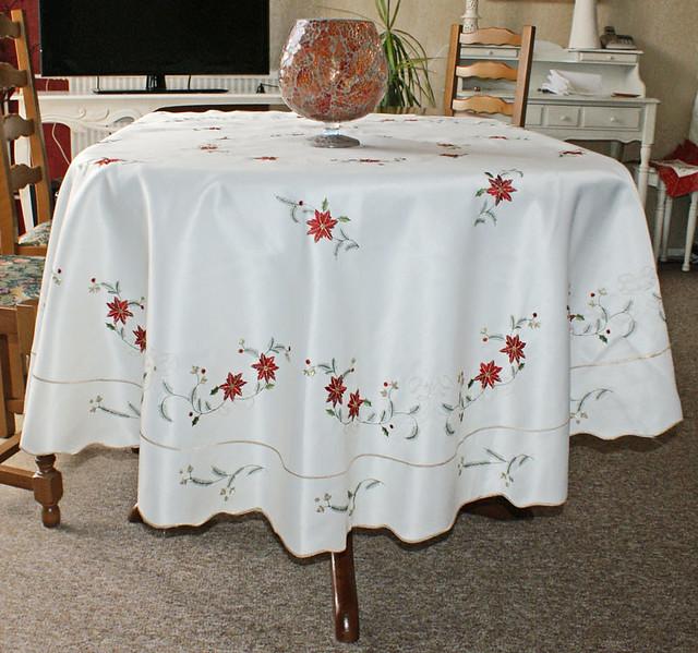 nappe ronde de noel 0 2 flickr photo sharing. Black Bedroom Furniture Sets. Home Design Ideas
