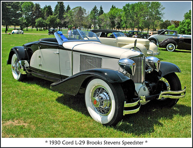 1930 Cord L-29 Speedster