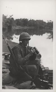 Stephen Randall Watches Cau Do River, 12 December 1966