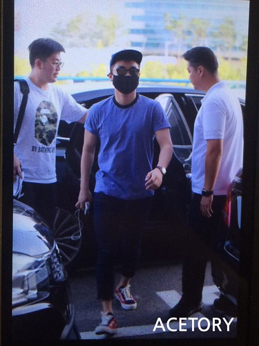BIGBANG Departing Seoul to Osaka 2015-08-21 (9)