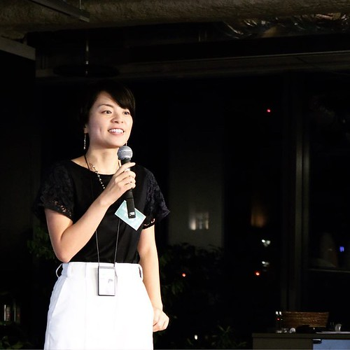 LINEモバイル株式会社 代表取締役社長 嘉戸彩乃さん。