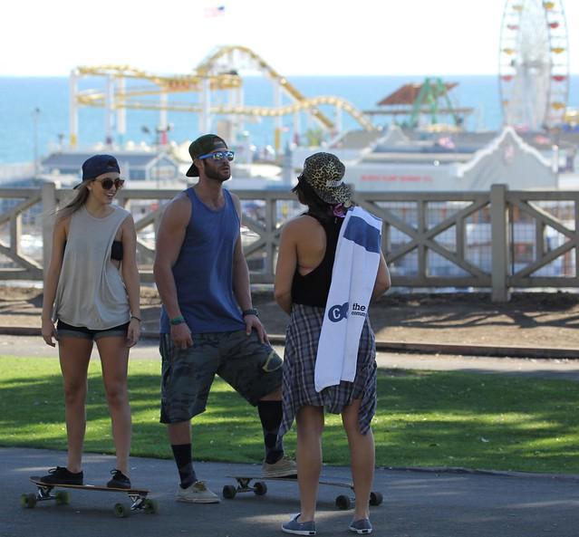 Skateboarders - Santa Monica, California, USA