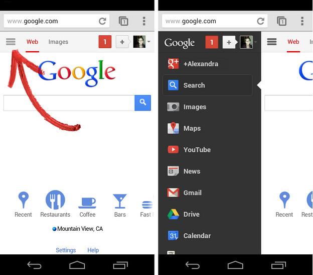 Google añade nuevas funciones a su página web móvil