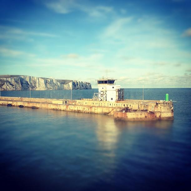 Docking in Dover.