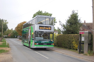 Norfolk Green 9 on the 55 11/10/12 (c) Colin Apps
