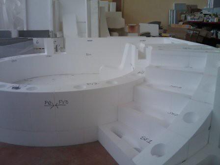 Бассейн для spa. Производство
