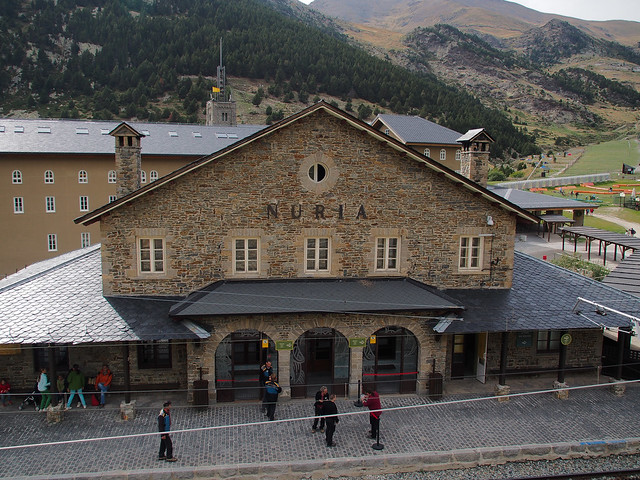 Vall de Núria Train Station