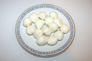 13 - Zutat Mozzarella / Ingredient mozzarella