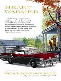 Buick 1958 Century Caballero Advert