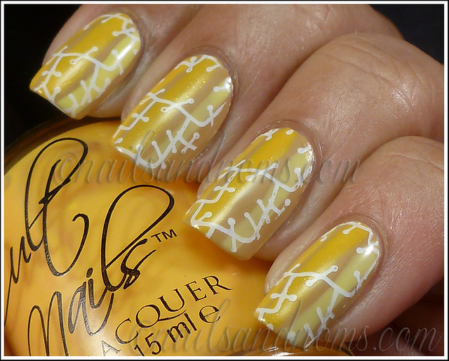 Day 3 Yellow Nails - 5