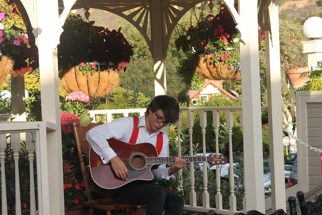 Serenading Spencer - Apple Farm Inn and Restaurant