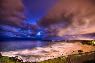 Supercell Storm at Gold Coast
