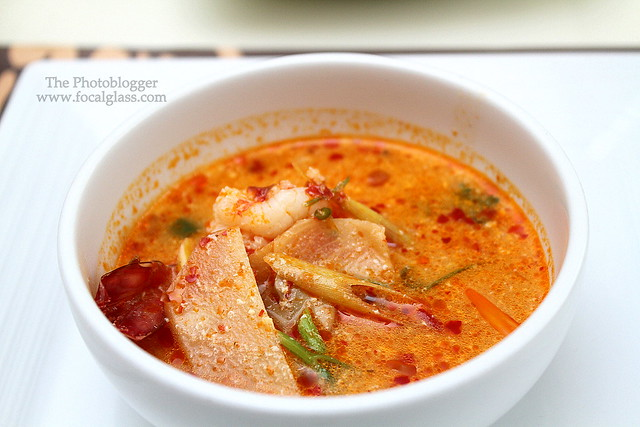 Tom Yum Prawn soup
