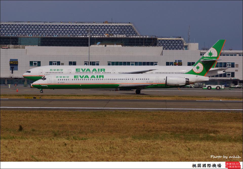 EVA Air / B-17917 / Taiwan Taoyuan International Airport