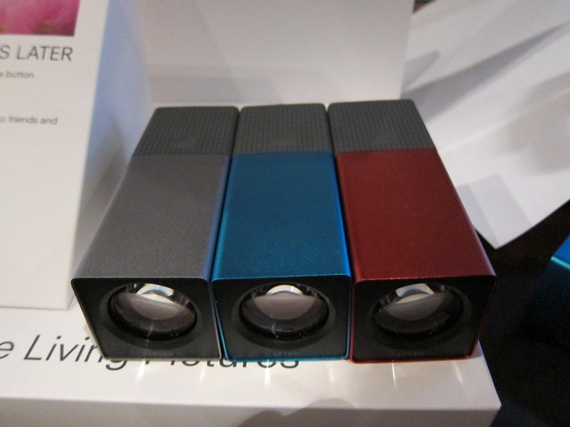 Lytro (Left to Right: Graphite, Electric Blue, Red Hot)