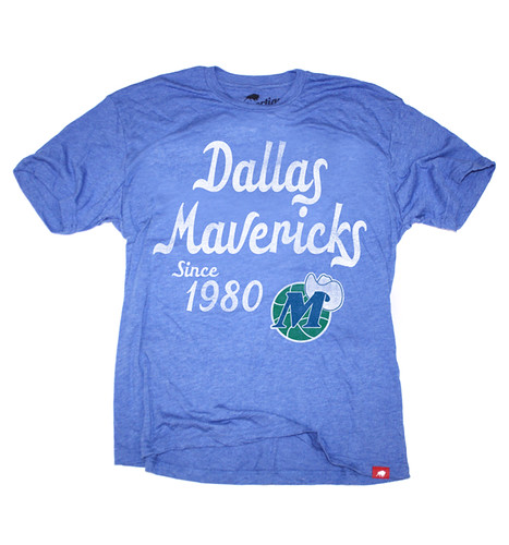 Dallas Mavericks Since 1980 T Shirt By Sportiqe Apparel